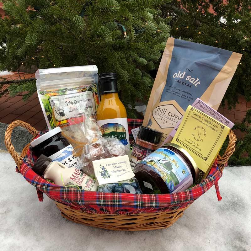 Maine Made Gift Basket