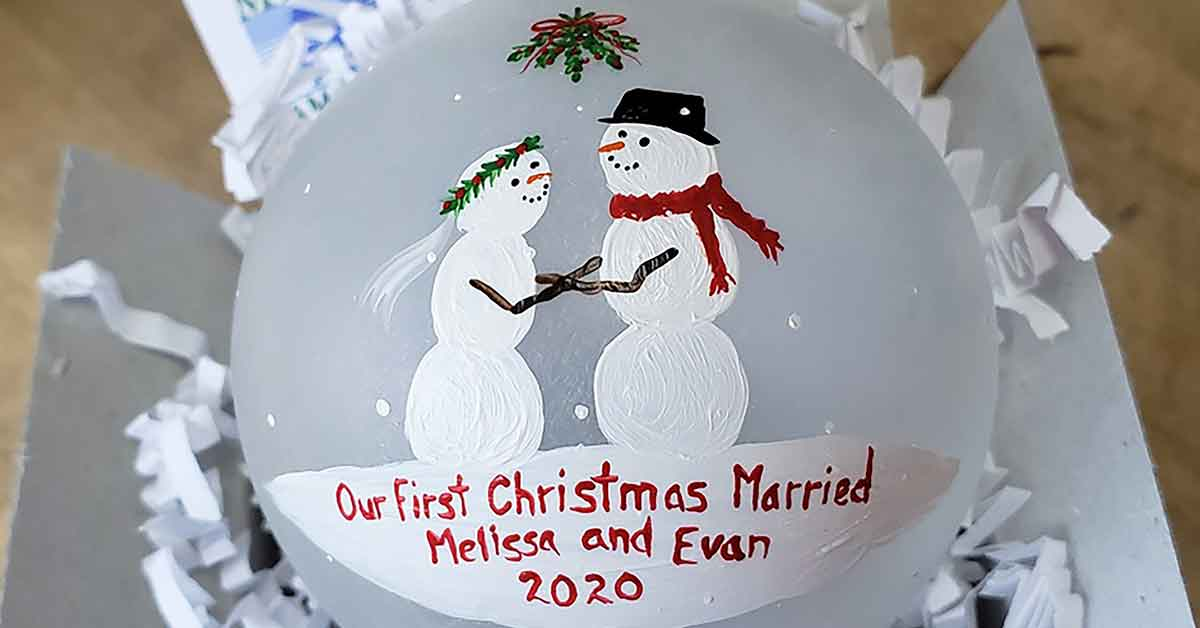 Beth's 2020 Customized Ornaments