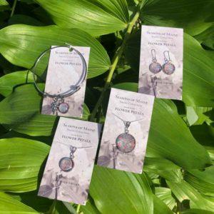 Hydrangea & Lilac Flower Petal Jewelry