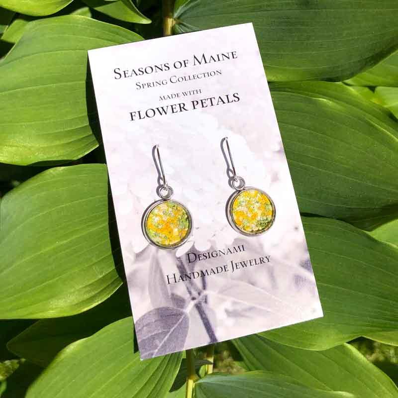 Daffodil Flower Earrings