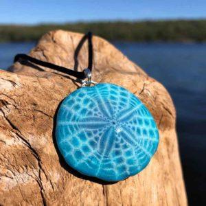 Mediterranean Sea Sand Dollar Necklace