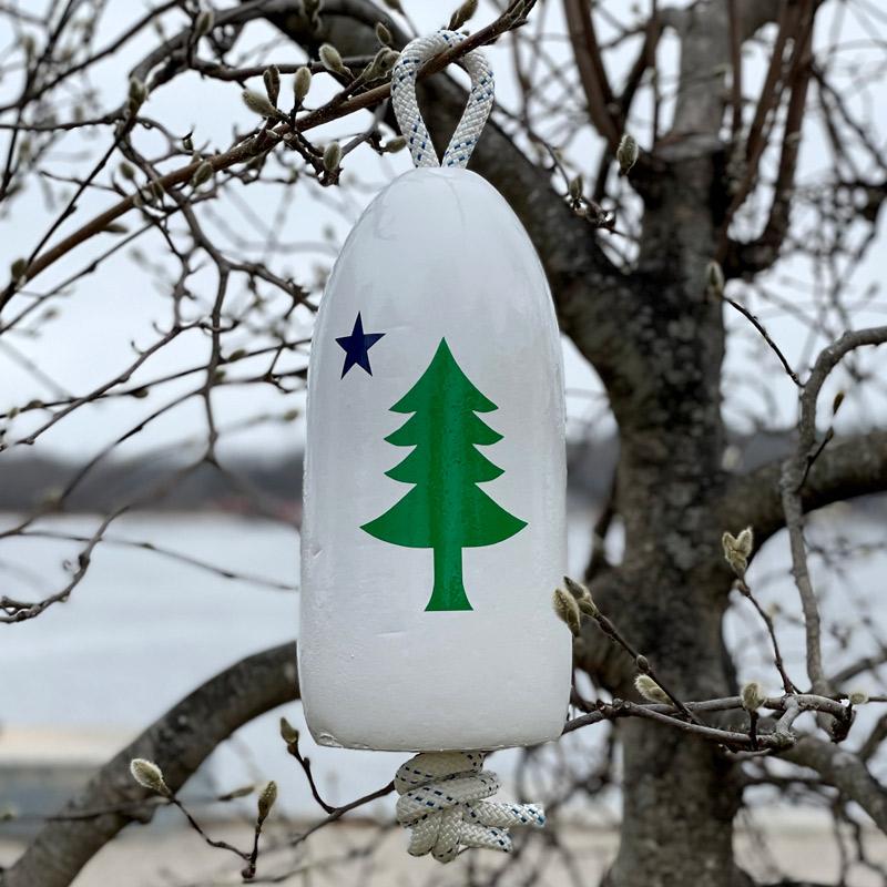 First Maine Flag Buoy