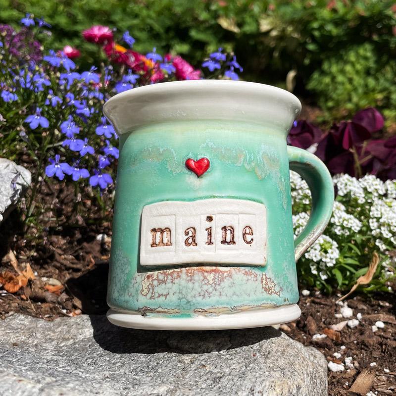 Maine Heart Mug #7