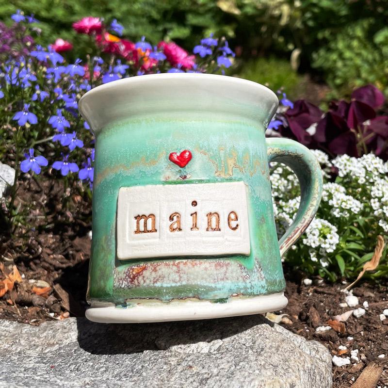 Maine Heart Mug #8