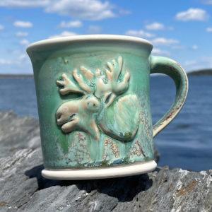 Moose Mug by Devenney Pottery