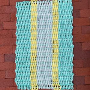 Springtime Lobster Rope Doormat