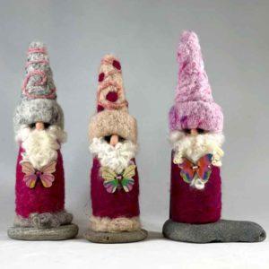 Magenta Men Gnomes