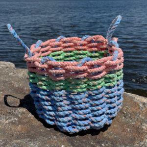Pond Lilly Lobster Rope Basket