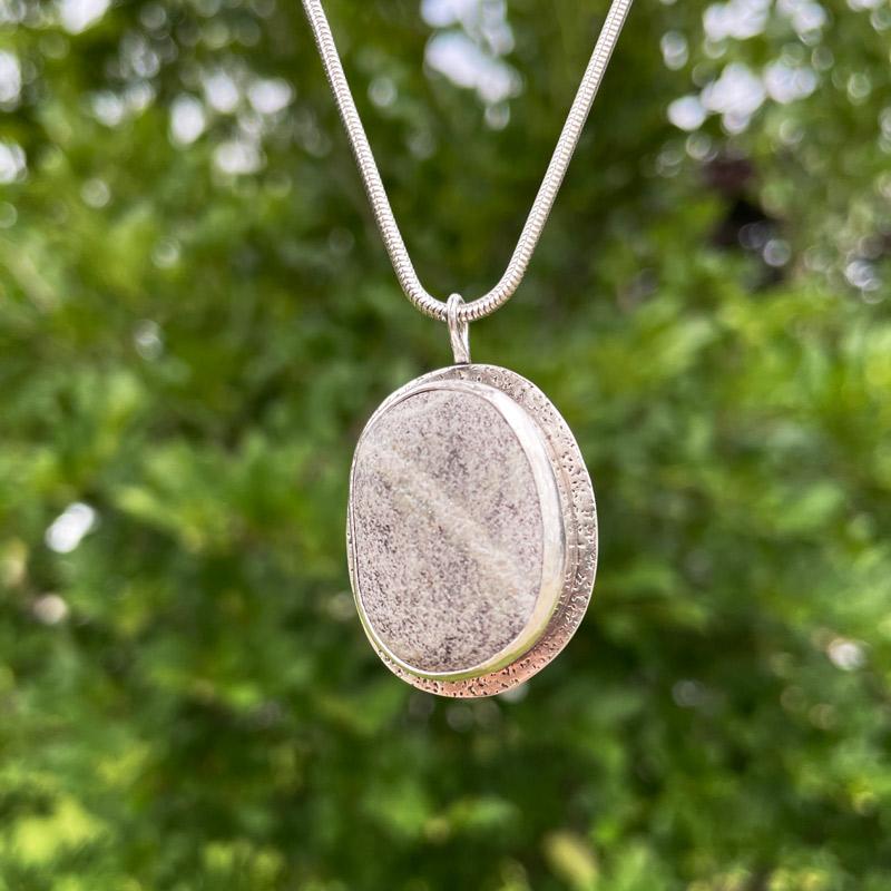 Medium Journey Stone Pendant by Cullen