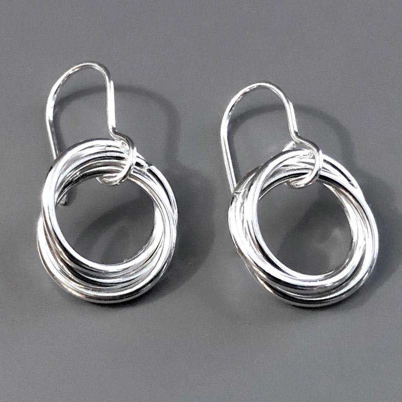 Small Love Knot Earrings