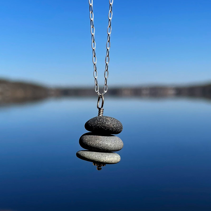 Cairn Pile Necklace