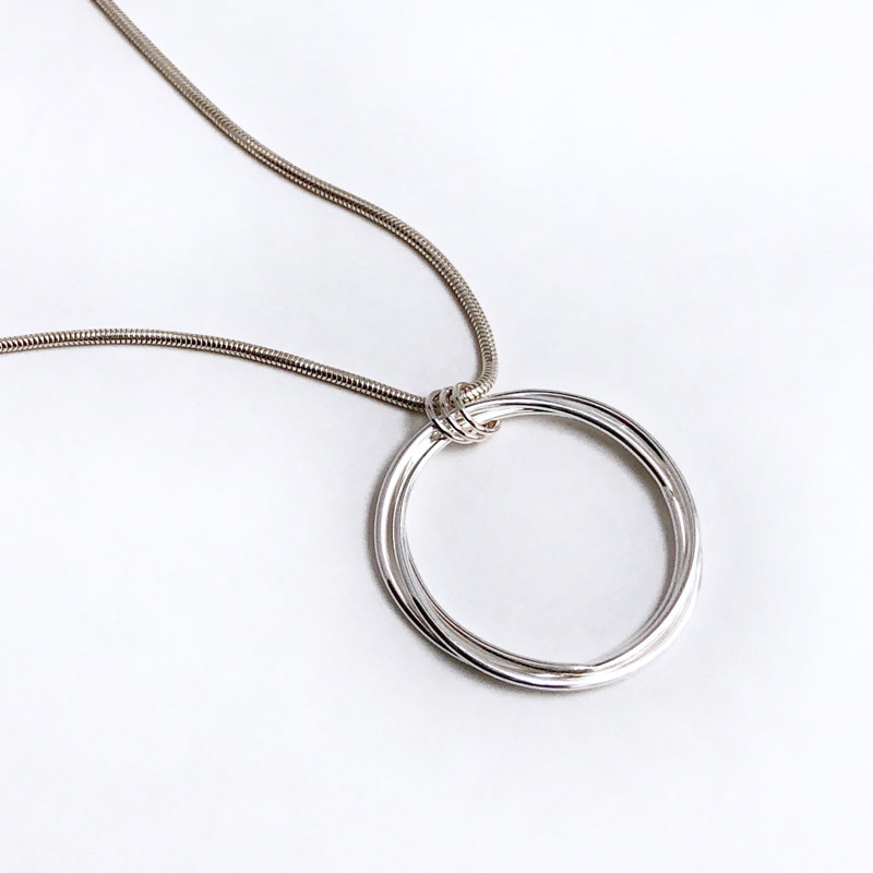 Large Love Knot Necklace