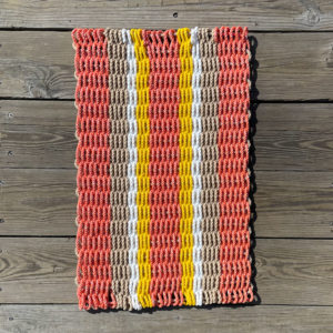 Day Lily Lobster Rope Basket