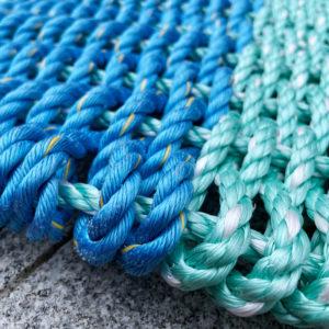 Tidepool Lobster Rope Doormat
