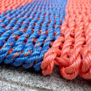 Autumn Skies Lobster Rope Doormat