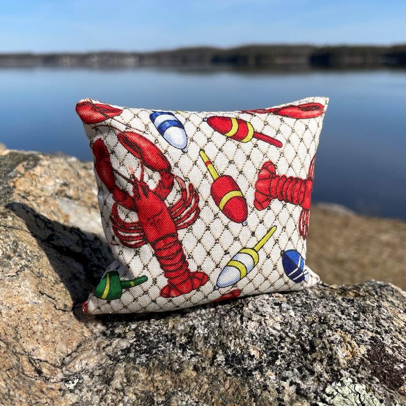 Lobster & Buoys Balsam Mini Pillow