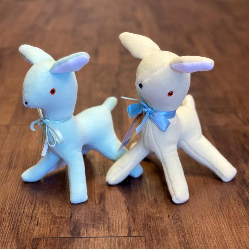 Fleece Stuffed Animals - Deer