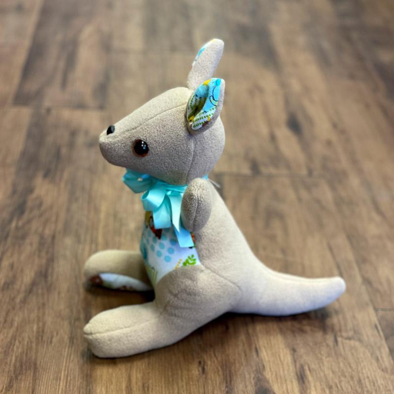 Fleece Stuffed Animals - Kangaroo