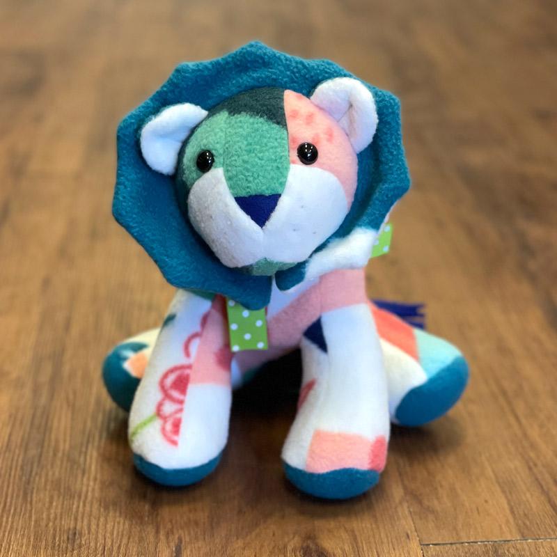 Fleece Stuffed Animals - Lion