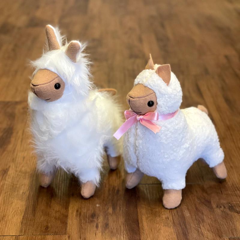 Fleece Stuffed Animals - Llamas