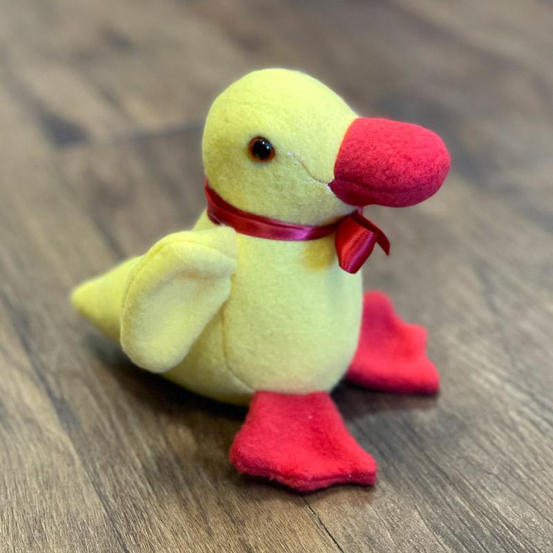 Fleece Stuffed Animals - Rubber Ducky