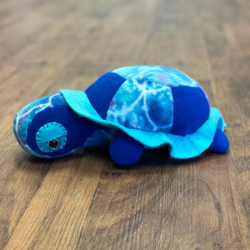 Fleece Stuffed Animals - Turtle