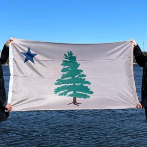 First Maine Flag
