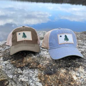First Maine Flag Trucker Hat