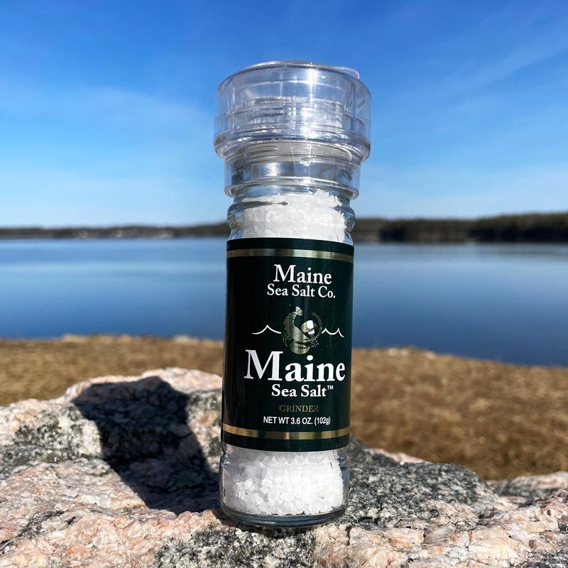 3.6 oz Natural Sea Salt Grinder