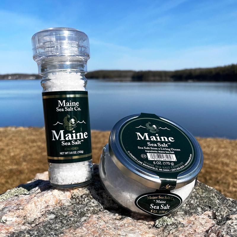 Natural Maine Sea Salt