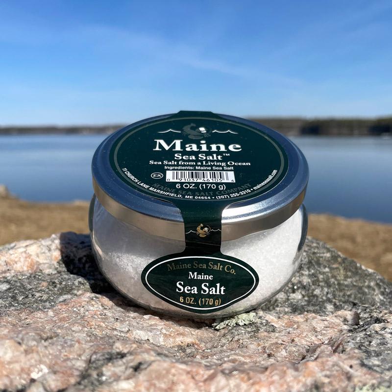 6 oz Natural Sea Salt Jar