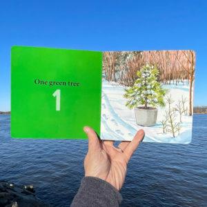 One Green Tree, Ten Chickadees