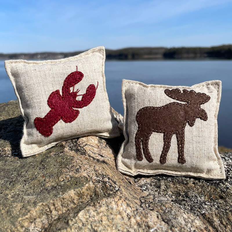 Felted Balsam Pillows