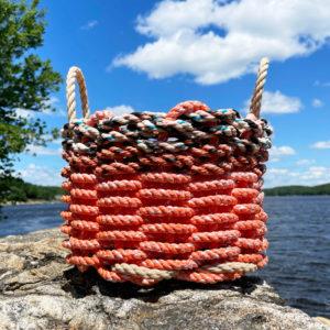 Fire Lobster Rope Basket