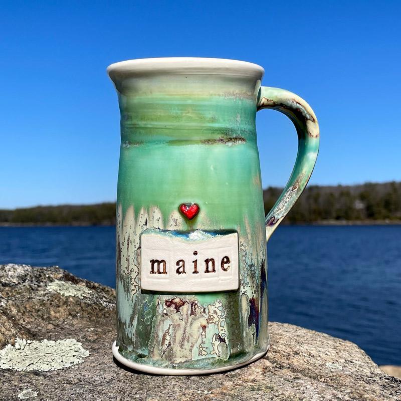 Love MAINE Ale Mug
