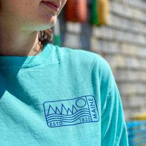 1820 Wave Stamp Long Sleeved Shirt