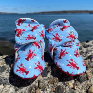 Lobster Baby Booties