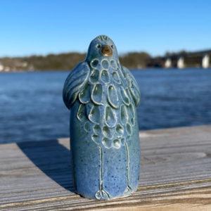 Bird Bud Vase by Westport Island Pottery