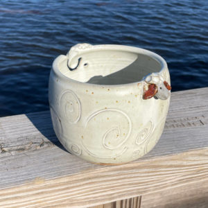 Yarn Bowl by Westport Island Pottery