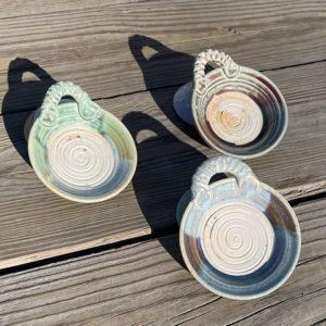 Garlic Plate by Westport Island Pottery
