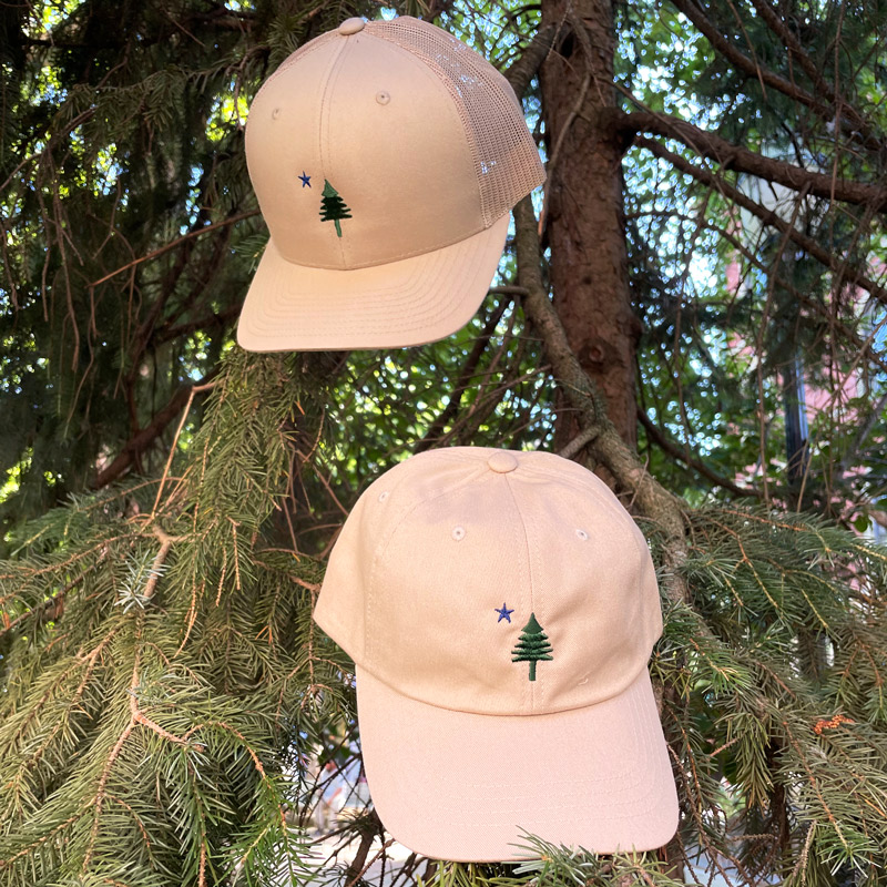 First Maine Flag Hats
