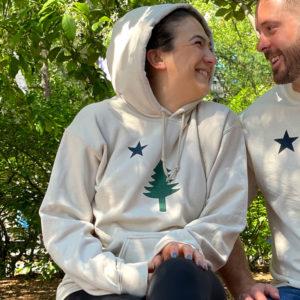 First Maine Flag Sweatshirt