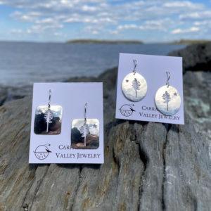 Dirigo Earrings by Carrabassett Valley Jewelry