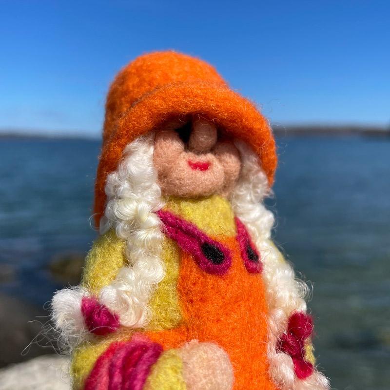 Grammy Jane the Fisher Gnome
