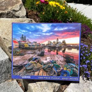 Maine Fishing Village Puzzle