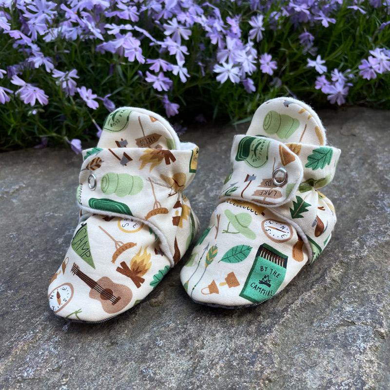 Upta Camp Baby Booties