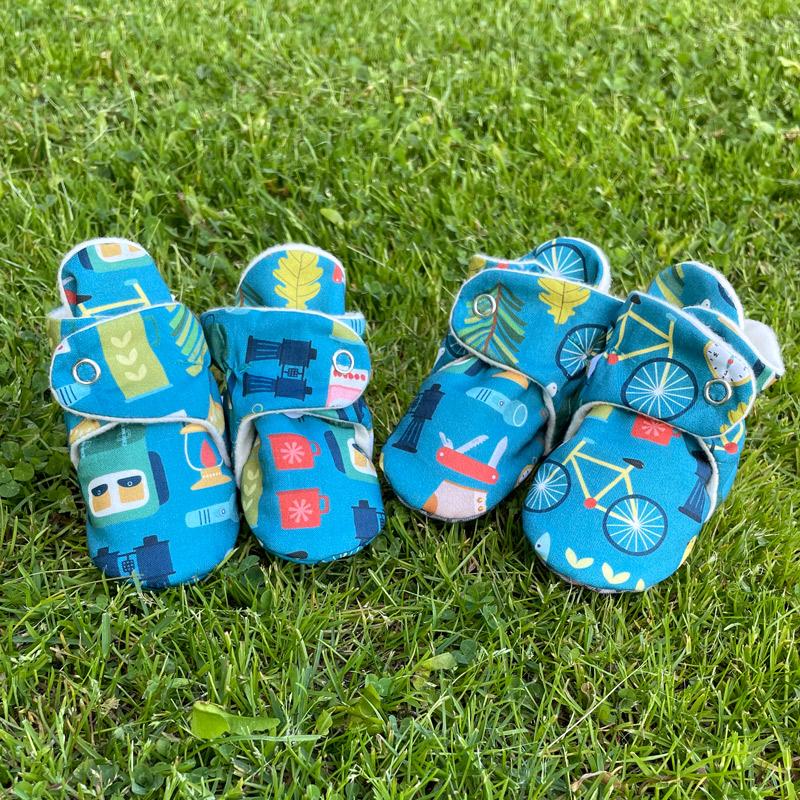 Great Outdoors Baby Booties