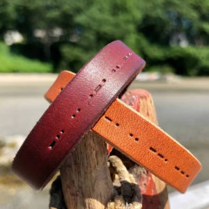 Morse Code Leather Bracelets