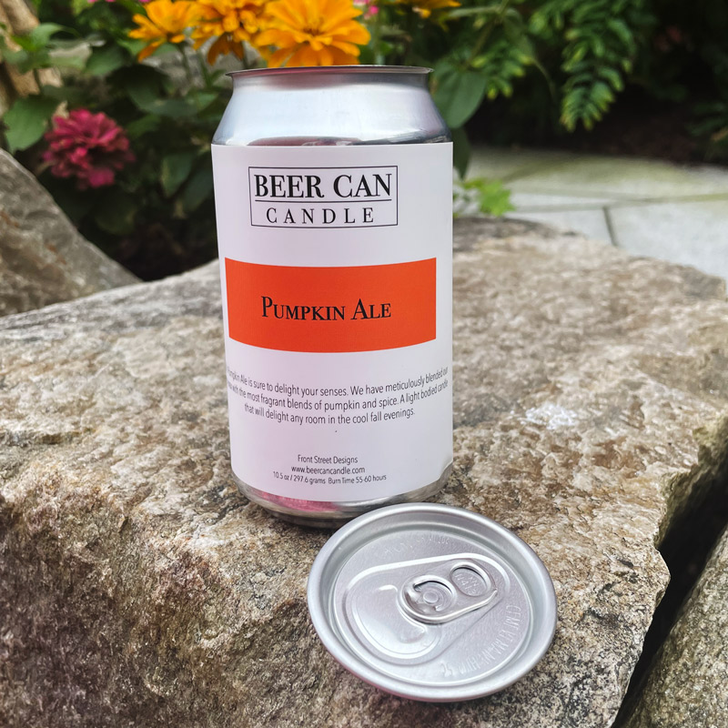 *Limited Edition* Pumpkin Ale Beer Can Candle