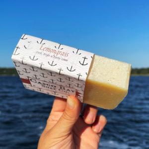 Lemongrass Soap by Casco Bay Soap
